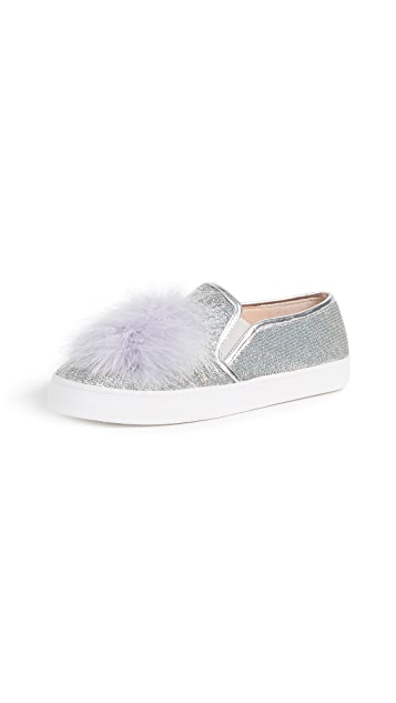Kate Spade New York Latisa Pom Pom Sneakers