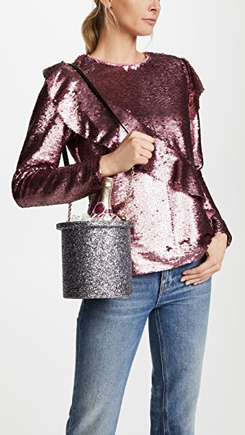 Kate Spade New York Finer Things Champagne Bucket Bag