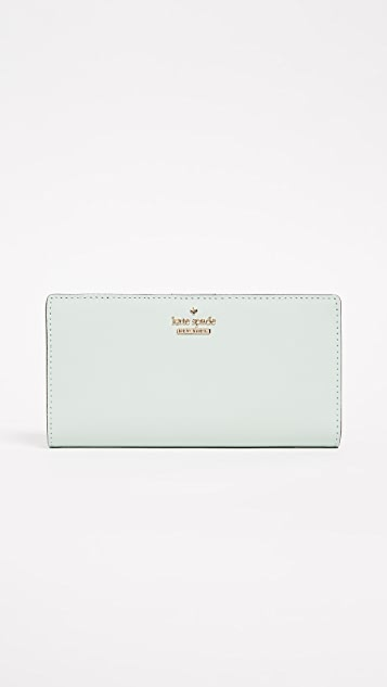 Kate Spade New York Cameron Street Stacy Wallet - Misty Mint