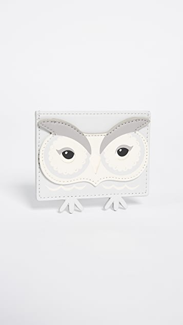 Kate Spade New York Start Bright Owl Card Holder