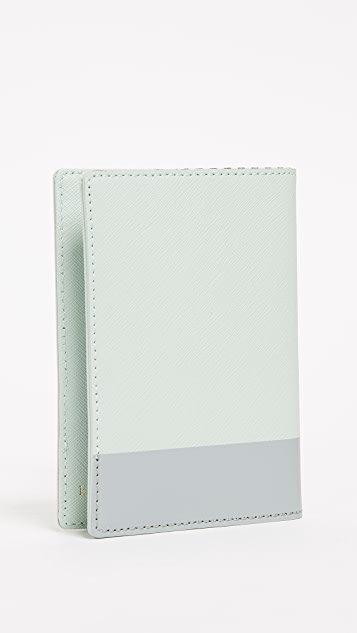 Kate Spade New York Checking In Cadillac Passport Case
