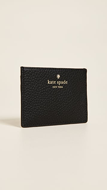 Kate Spade New York Ours Truly Applique Card Holder