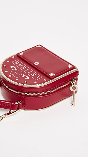 Kate Spade New York Ours Truly Mailbox Cross Body Bag