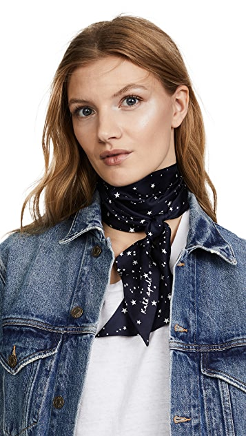 Kate Spade New York Night Sky Medium Skinny Scarf