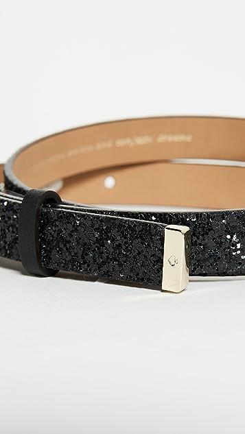 Kate Spade New York Glitter Sparkle Belt