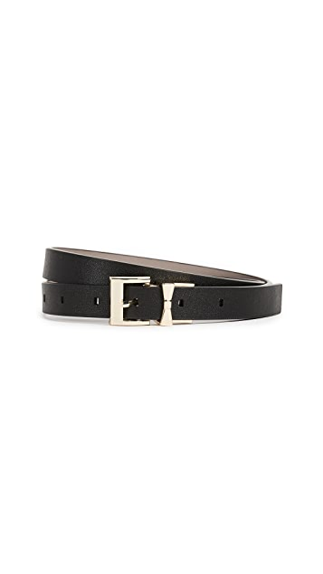 Kate Spade New York Smooth Leather Reversible Belt