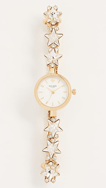 Kate Spade New York Crystal Star Bracelet Watch, 21mm