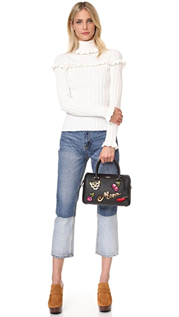 Kate Spade New York Ma Cherie Embellished Large Lane Satchel