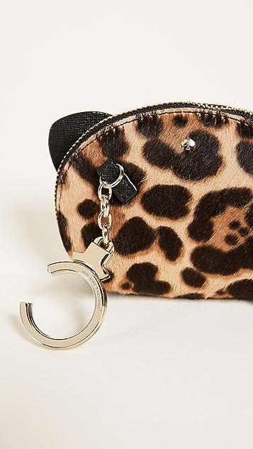 Kate Spade New York Run Wild Leopard Dumpling Coin Purse