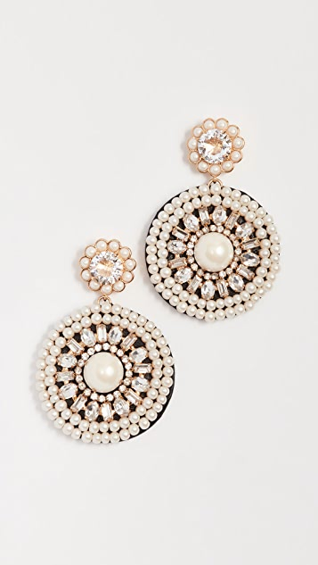 Kate Spade New York Luminous Leather Statement Earrings
