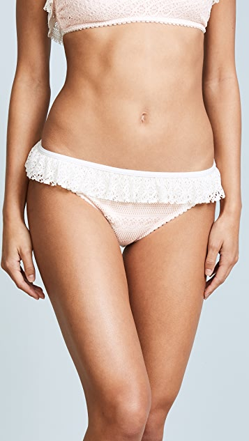 Kate Spade New York Point Loma Ruffle Bikini Bottoms