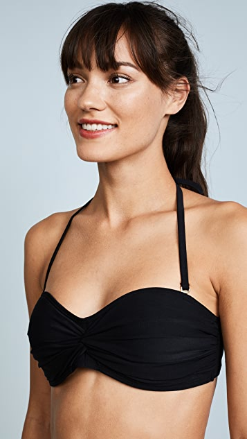 Kate Spade New York Isla Vista Bandeau Bikini Top