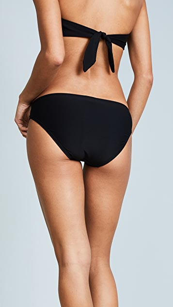 Kate Spade New York Isla Vista Side Shirred Bikini Bottoms