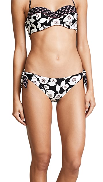 Kate Spade New York Aliso Beach Reversible Tie Side Bikini Bottoms