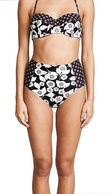 Kate Spade New York Aliso Beach High Waist Bikini Bottoms