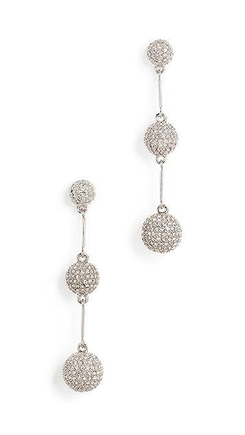Kate Spade New York Pave Dash Earrings
