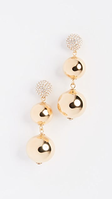 Kate Spade New York Pave Bauble Earrings