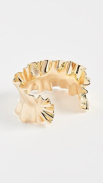 Kate Spade New York Statement Ruffle Cuff Bracelet