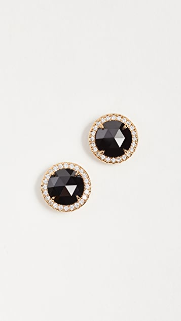 Kate Spade New York Pave Halo Studs