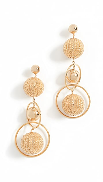 Kate Spade New York Beads and Baubles Statement Earrings