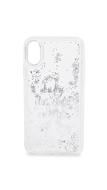 Kate Spade New York Baby It's Cold Outside iPhone X Case