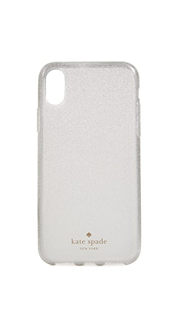 Kate Spade New York Glitter Ombre IPhone X Case