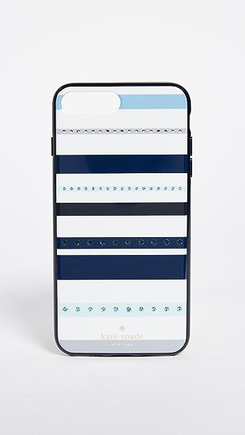 online store e38b2 1ddb9 Jeweled Stripe iPhone 7 Plus / 8 Plus Case