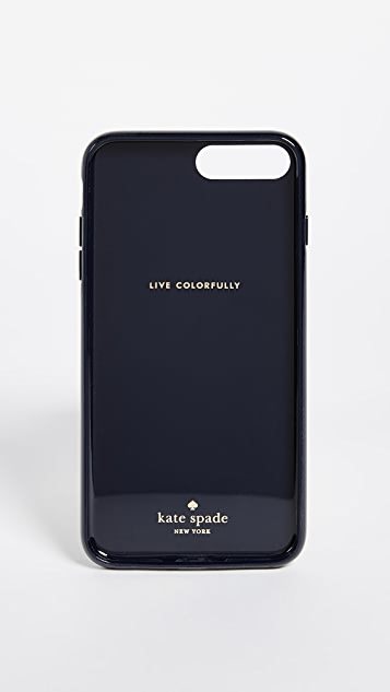 Kate Spade New York Jeweled Stripe iPhone 7 Plus / 8 Plus Case