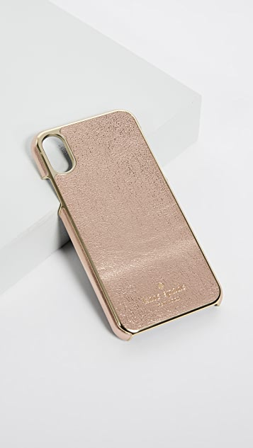 Kate Spade New York Metallic iPhone X Case