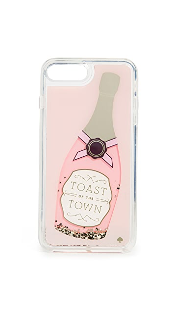 Kate Spade New York Champagne Glitter iPhone 7 Plus / 8 Plus Case