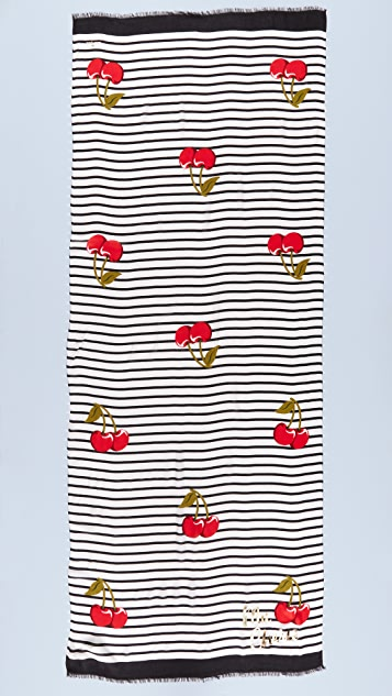 Kate Spade New York Cherie Oblong Scarf