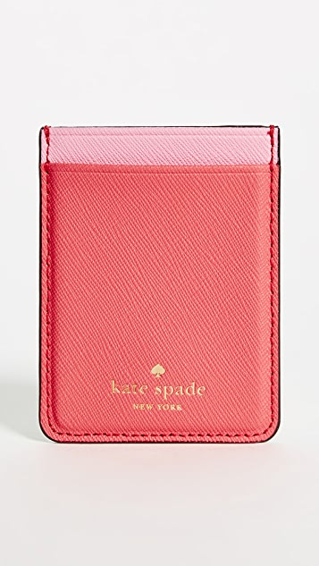 Kate Spade New York Double Sticker Phone Pocket