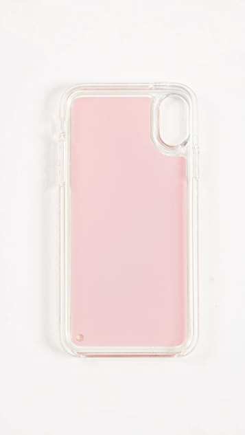Kate Spade New York Glitter Love Potion iPhone X Case