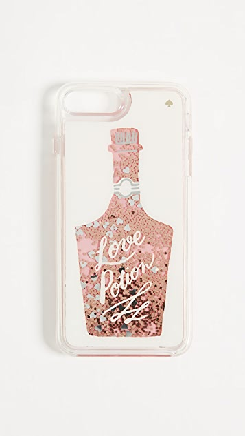 Kate Spade New York Glitter Love Potion iPhone 7 Plus / 8 Plus Case