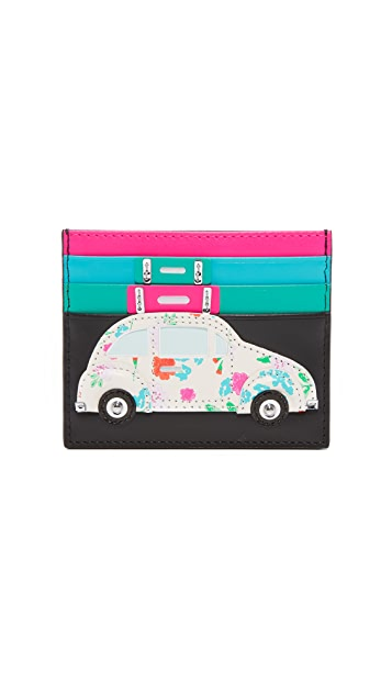 Kate Spade New York Scenic Route Car Card Holder