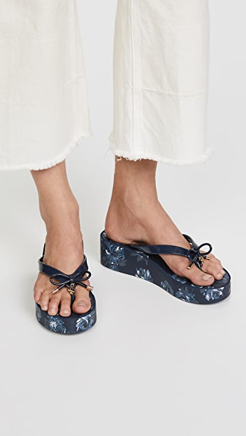 Kate Spade New York Rhett Floral Flip Flops