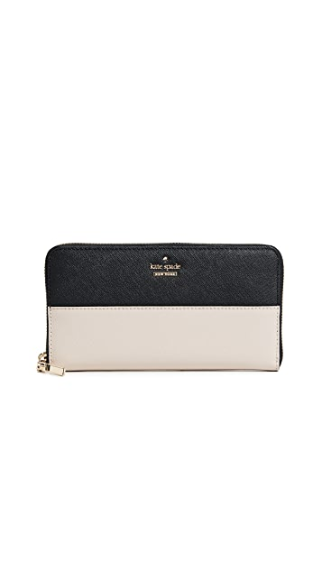 Kate Spade New York Cameron Street Lacey Zip Around Wallet