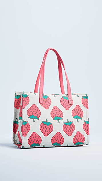 Kate Spade New York Picnic Perfect Strawberry Tote