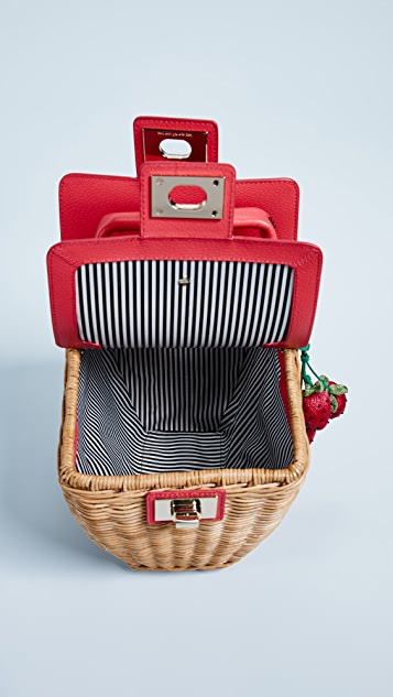 Kate Spade New York Picnic Perfect 3D Wicker Basket