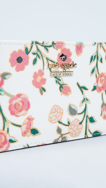 Kate Spade New York Cameron Street Ditsy Blossom Card Holder