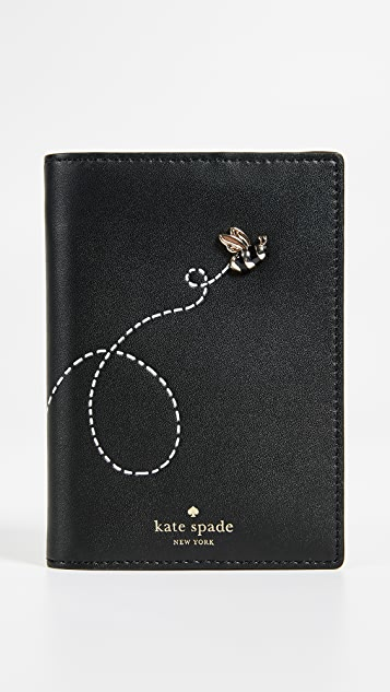 Kate Spade New York Picnic Perfect Bee Passport Holder - Multi
