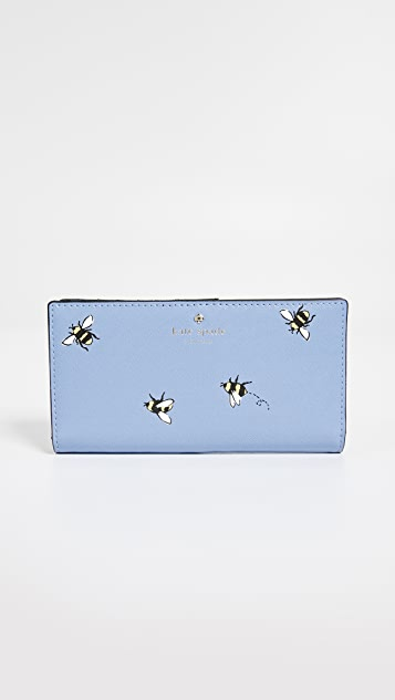 Kate Spade New York Picnic Perfect Stacy Snap Wallet