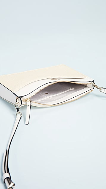 Kate Spade New York Cameron Street Straw Clarise Cross Body Bag