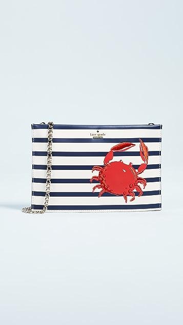 Kate Spade New York Shore Thing Crab Sima Cross Body Bag