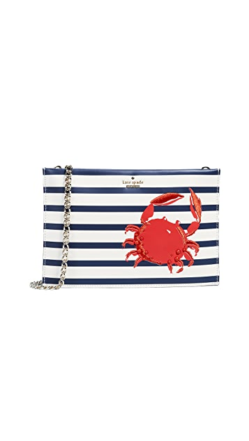 Kate Spade New York Shore Thing Crab Sima Cross Body Bag