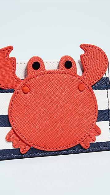 Kate Spade New York Shore Thing Crab Card Holder