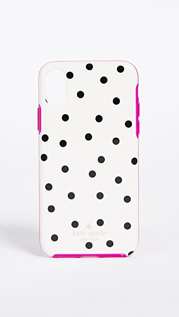 Kate Spade New York Dancing Dot iPhone X Case