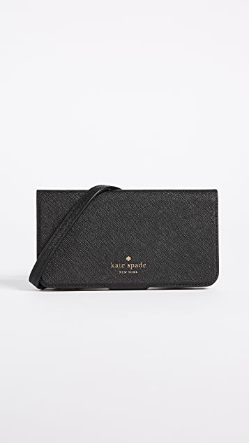 Kate Spade New York Folio Cross Body iPhone X Case