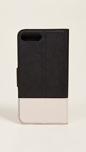Kate Spade New York Кожаный чехол-книжка для iPhone 7 Plus/ 8 Plus