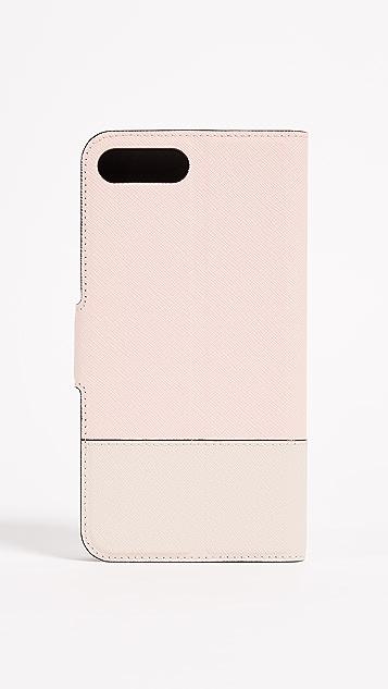 Kate Spade New York Leather Wrap Folio iPhone 7 Plus / 8 Plus Case